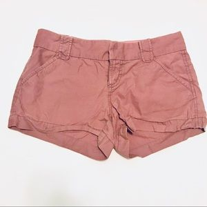 Old Navy Lilac Twill Shorts